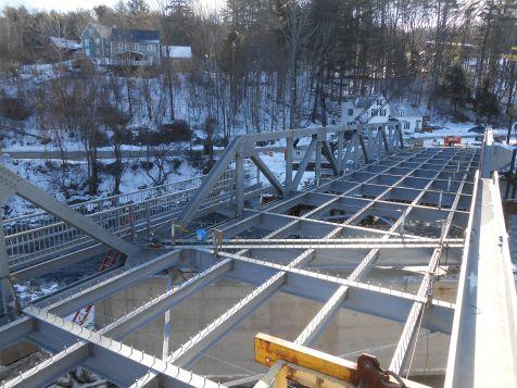 Truss Structure & Sidewalk Framing