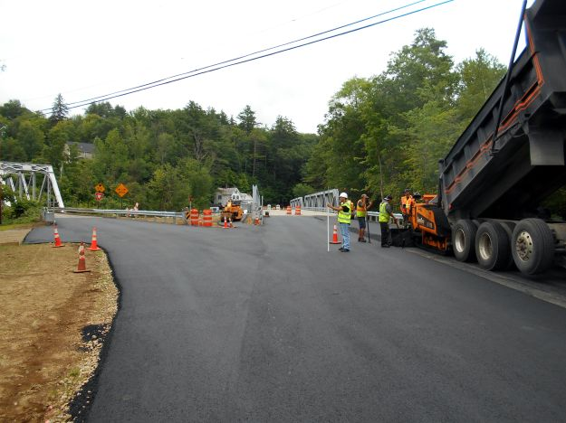 Paving Operations at the Western Avenue Bridge